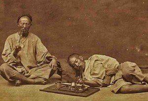 fumeurs opium chine