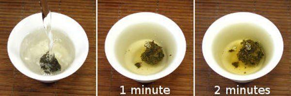 preparer mini puerh tuocha