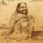 histoire du thé: légendes de Shennong et Bodhidharma