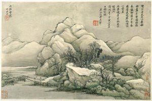 wang hui-1632-1717-landscapes
