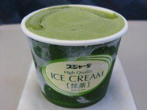 glace au thé matcha japon