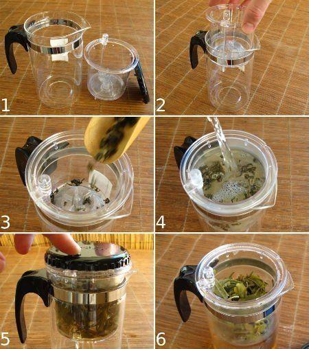 pichet infuseur thé