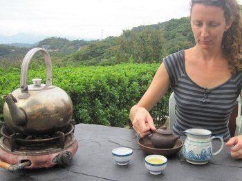 dégustation de thé à Maokong
