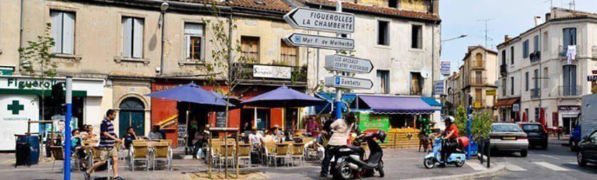 Livraison de votre thé à Montpellier dans le quartier Figuerolles