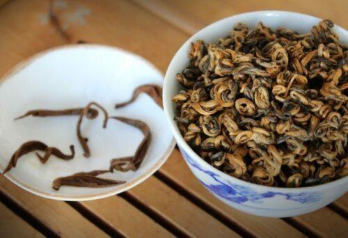 thé rouge du Yunnan