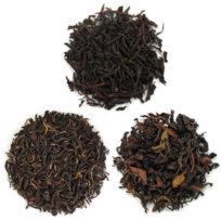 3 paquets de dégustations de thés noirs de Thaïlande, de Ceylan et du Népal
