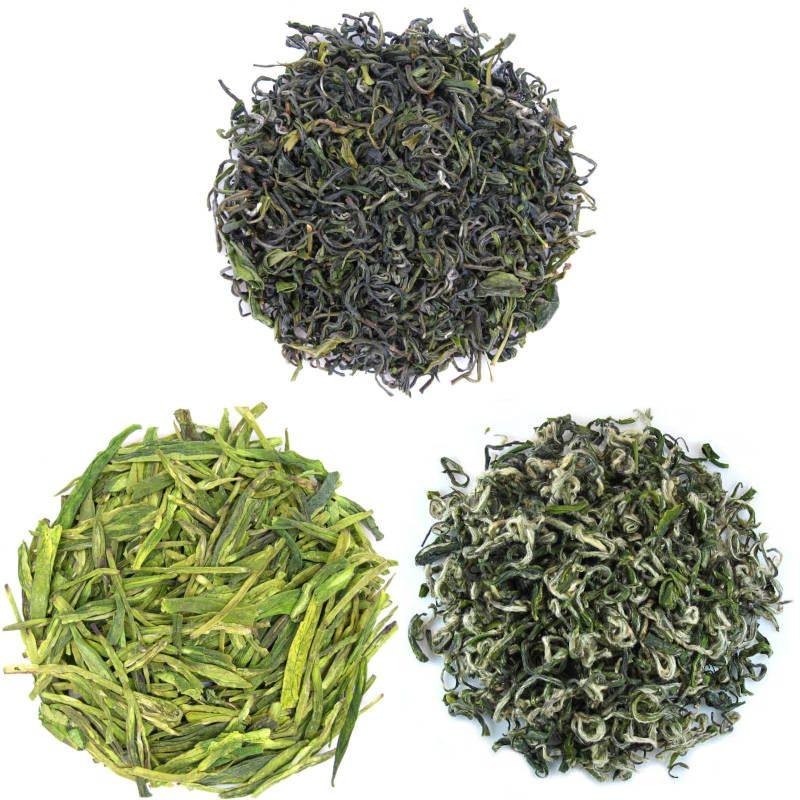 3 paquet de dégustation de thé vert originaire de Chine