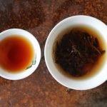 infusion du thé rouge qui est un thé oxydé de Chine