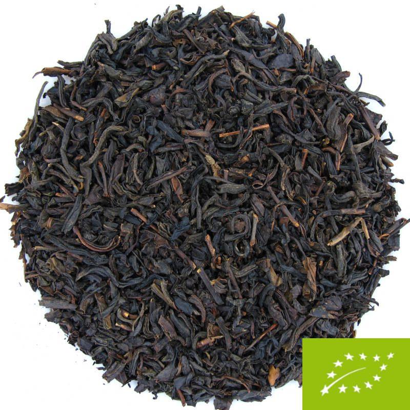Thé noir fumé au bois d'epicéa