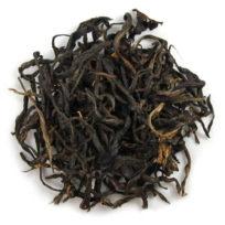 thé rouge de chine en grandes feuilles