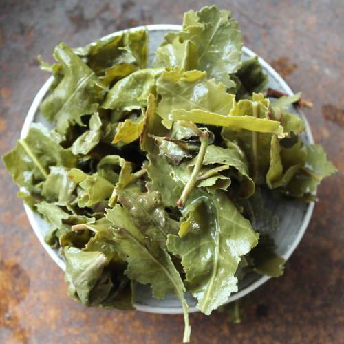 feuilles infusées de Tie Guan Yin BIO