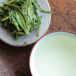 Infusion des feuilles Long Jing