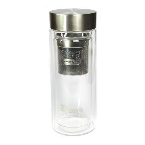 bouteille isotherme en verre pour infusion du th 300ml. Black Bedroom Furniture Sets. Home Design Ideas