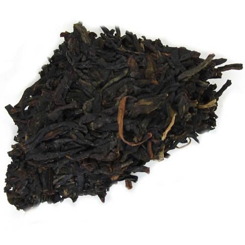 Feuilles de thé violet du Yunnan