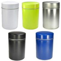4 modèles de boite à thé avec double couvercle