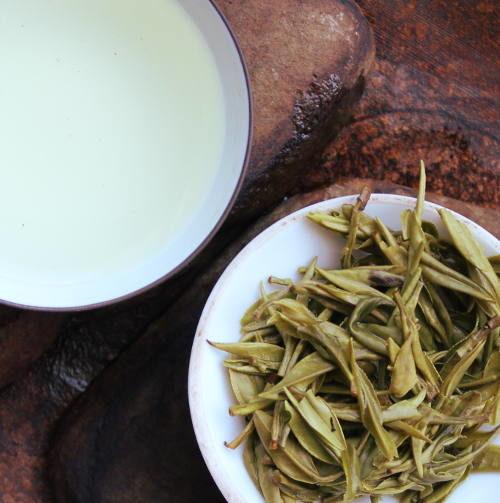 thé vert des montagnes jaunes