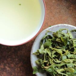 infusion de thé vert Huang Shan Mao Feng
