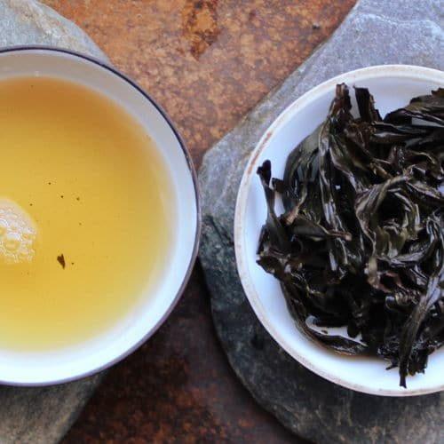 Thé violet du Fujian