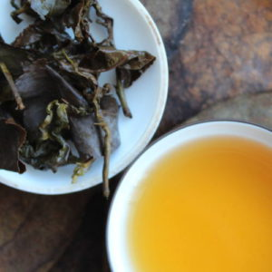 test d'un oolong de taiwan
