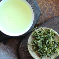 Thé vert du Shandong, récolte ming qian