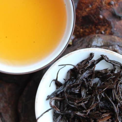 thé oxydé du Shandong, parfums chocolat