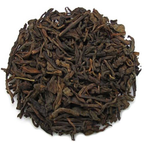 puerh fermenté de vieux arbres Menghai