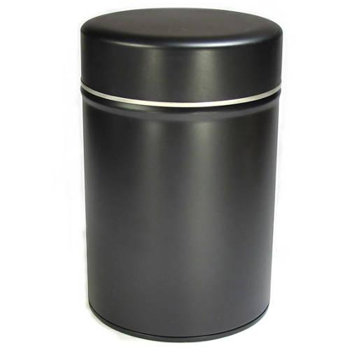 Boite en métal pour la conservation du thé, double couvecle en métal