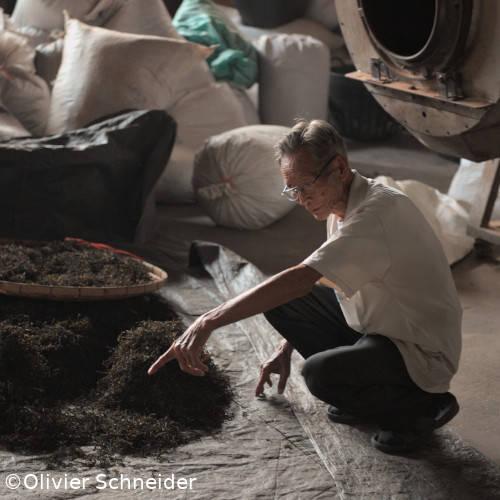 Producteur Dao Jian Zhong dans son atelier