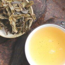 Thé pu-erh du Yunnan galette verte