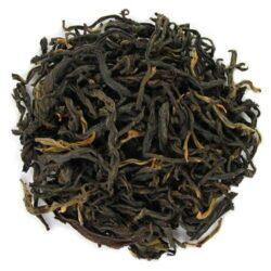 thé rouge corsé du Yunnan Lincang grandes feuilles