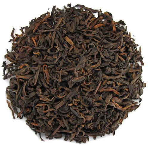 thé pu-erh fermenté de 20 ans d'âge