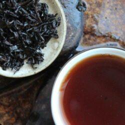 Thé âgé fermenté à Hong Kong 20 ans