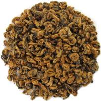 Thé rouge du Yunnan roulé en perles