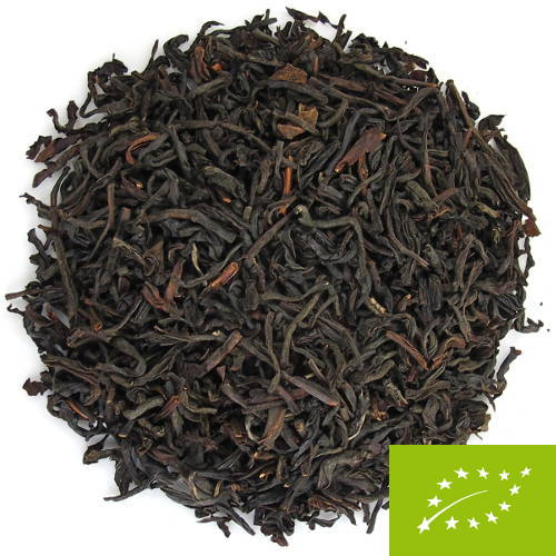 thé noir indien de la région d'Assam en Inde