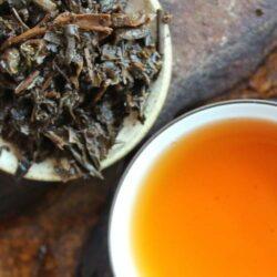 thé pu'er pour le tibet compressé en briques
