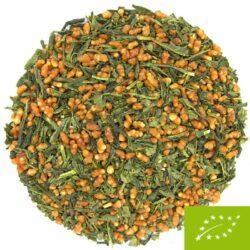 thé vert genmaicha grains de riz torréfiés