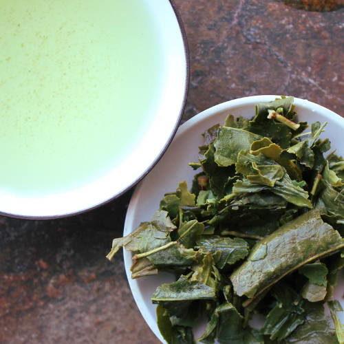 thé vert sans théine bancha japonais