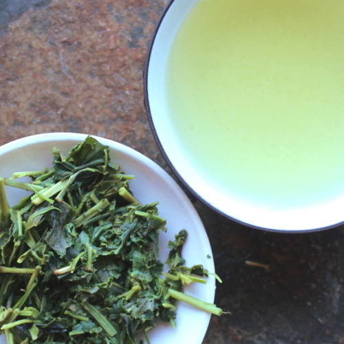 kukicha thé vert avec tiges japon