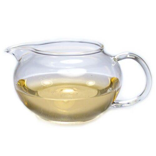 pichet de réserve en verre pour le thé