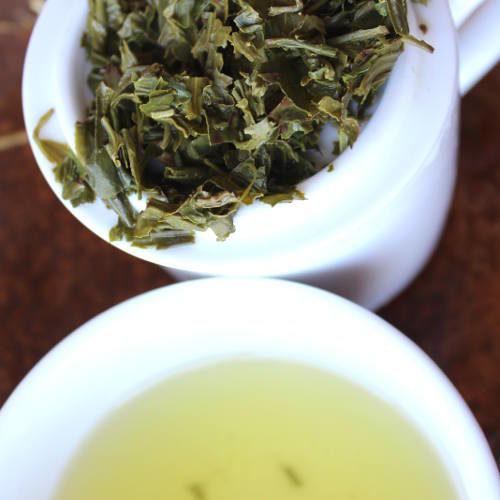 thé vert japonais récolte d'été sencha
