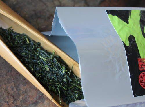 thé vert shincha du japon 1ère récolte de printemps