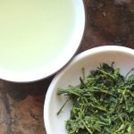 shincha printemps thé vert Japon