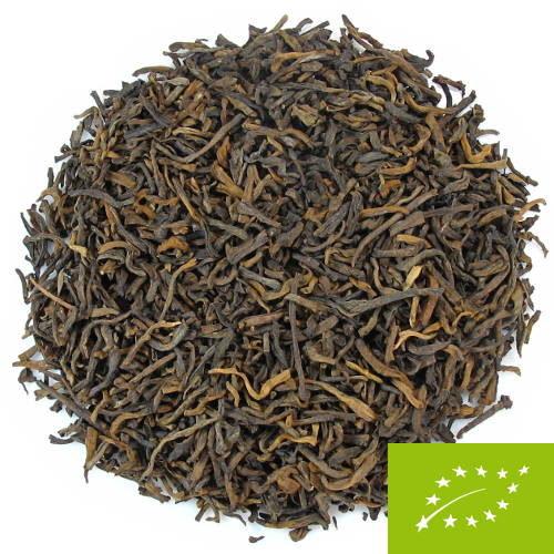 bourgeons de thé sombre pu-erh labellisé bio