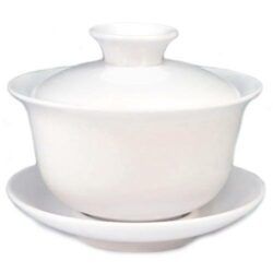 gaiwan blanc pour infusion du thé 120ml
