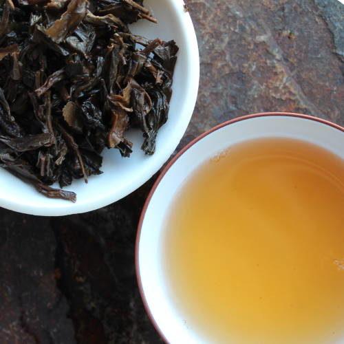 thé pu'er fermenté à Taiwan, vieux thé 20 ans
