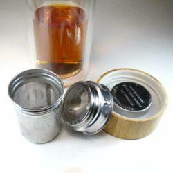 thermos en verrs pour infusion thé et plantes