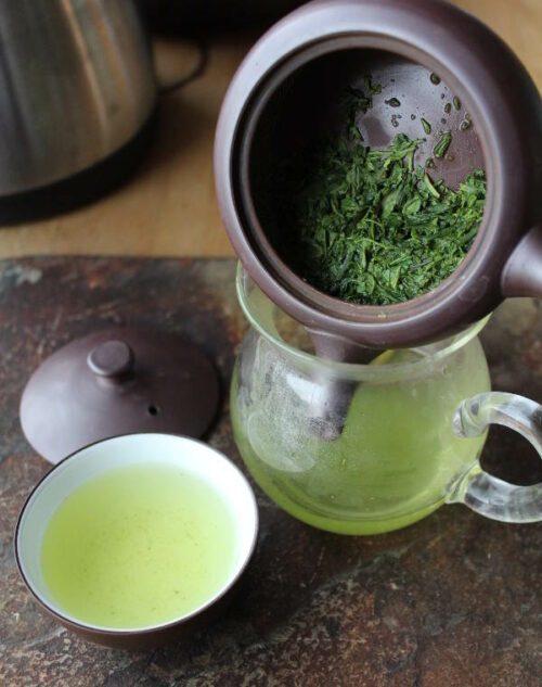 thé vert haut de gamme japon