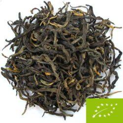 grandes feuilles thé oxydé du Yunnan