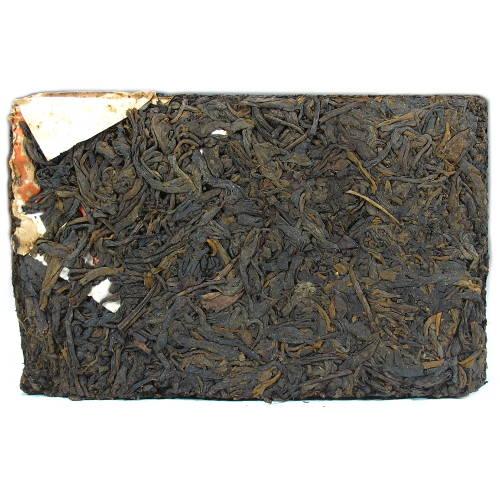 Brique de thé puerh fermenté de la Menghai Tea Factory