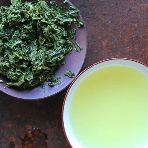 Thé vert ombré de Yakushima, producteur Mr Watanabe
